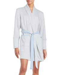 Jane And Bleecker - Shawl Collar French Terry Robe - Lyst