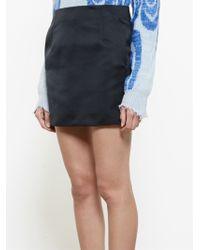 Acne Studios Kyte Mini Skirt - Lyst