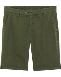 Aspesi Twill Shorts - Lyst