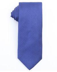 Prada Bluette Silk Micro Dot Print Tie - Lyst