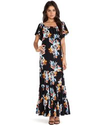 Rebecca Minkoff Dev Maxi Dress - Lyst