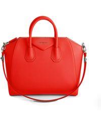Givenchy   Antigona Small Leather Satchel   Lyst