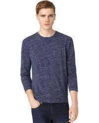 Calvin Klein Jeans Slub Crew T Shirt - Lyst