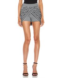 Sass & Bide Face in The Crowd Cottonblend Skort - Lyst