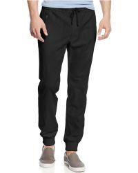 Inc International Concepts Linen Jogger Pants - Lyst