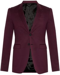 Burberry Prorsum Cotton And Silk-Blend Blazer - Lyst