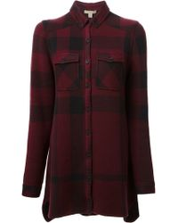 Burberry Brit Joanna Plaid Shirt - Lyst
