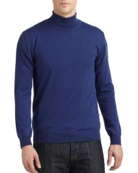 Calvin Klein Merino Wool Turtleneck Sweater - Lyst