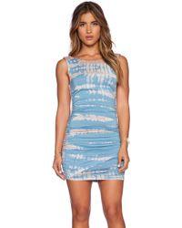 Gypsy 05 - Bamboo Shirred Wrap Dress - Lyst