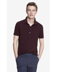 Express Space Dyed Signature Polo - Lyst