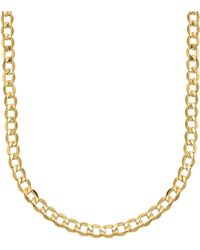 Lord & Taylor - 14k Yellow Gold Cuban Chain Link Necklace - Lyst
