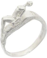 Fraser Hamilton - Lady Ring Silver - Lyst