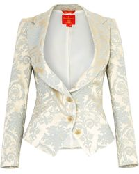 Vivienne Westwood Red Label Brocade Blazer - Lyst