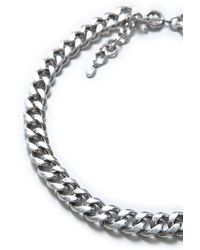 Zara Basic Thick Link Chain - Lyst