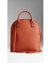 Burberry The Bloomsbury in Grainy Leather - Lyst