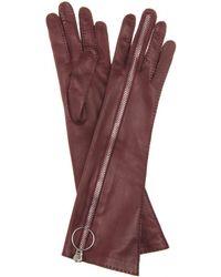 Acne Studios - Nicole Long Leather Gloves - Lyst