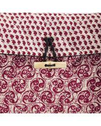 Maison Scotch - Womens Batik Clutch Bag - Lyst