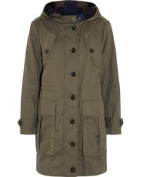 Burberry Brit Cotton-twill Parka - Lyst