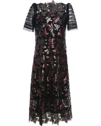 Marc Jacobs Sequined Guipure Lace Dress - Lyst