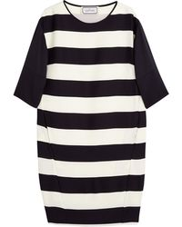 By Malene Birger Rashmika Block Stripe Long Sleeve Dress - Lyst