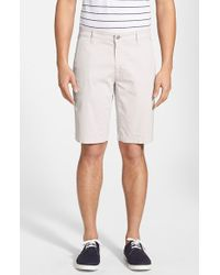 AG Adriano Goldschmied 'Griffin' Chino Shorts - Lyst