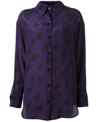 Vivienne Westwood Red Label Button Down Shirt - Lyst