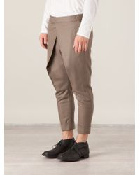 Haider Ackermann Wrapstyle Pleat Trousers - Lyst