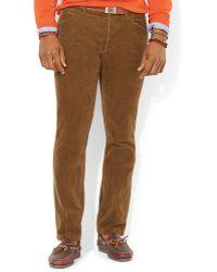 Ralph Lauren Polo Corduroy Rider Pant Slim Fit - Lyst