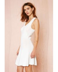 Nasty Gal Serves You Right Dress - Lyst
