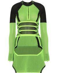 Alexander Wang Mesh Mini Dress - Lyst