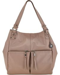 The Sak Ashbury Leather Large Tote - Lyst