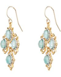 Alexis Bittar Gold Muse D'Or Spur Petite Chandelier Earring - Lyst