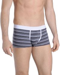DIESEL - Hero Fit Striped Boxer Shorts - Lyst