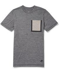 Nike White Label Dri-fit Wool-blend T-shirt - Lyst