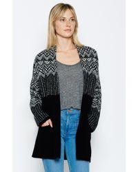 Joie Radegonde Sweater black - Lyst
