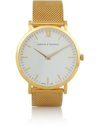 Larsson & Jennings Cm Goldplated Watch - Lyst