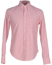 Band of Outsiders | pink Shirt | Lyst