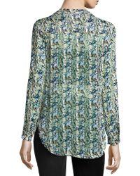 Nikkies Threads - Abstract-print Long-sleeve Tunic - Lyst