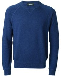 DSquared2 Crew Neck Sweater - Lyst