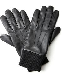 Jaeger - Leather Gloves - Lyst