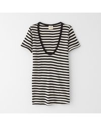 Edith A. Miller Scoop Neck Short Sleeve Tee - Lyst