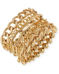 R.j. Graziano - Multi-row Stretch Bracelet - Lyst