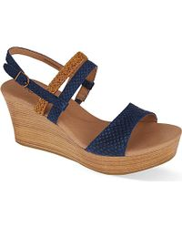 Ugg Lira Wedge Sandals - For Women - Lyst