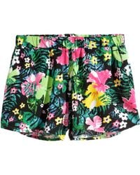 H&M Patterned Shorts multicolor - Lyst