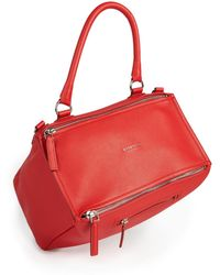 Givenchy   Pandora Medium Leather Shoulder Bag   Lyst
