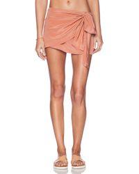 Acacia Swimwear Wailea Wrap Skirt - Lyst