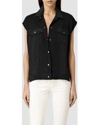 AllSaints Libra Shirt - Lyst