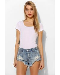 One Teaspoon - Hendrix Bandit Short - Lyst