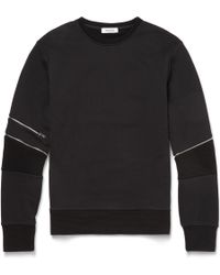 Tim Coppens Zipped Cotton Sweatshirt - Lyst