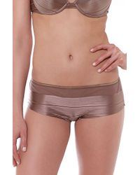 Huit - 'dress Code' Boyshorts - Lyst
